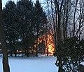 Adams-Gray House burning.jpg