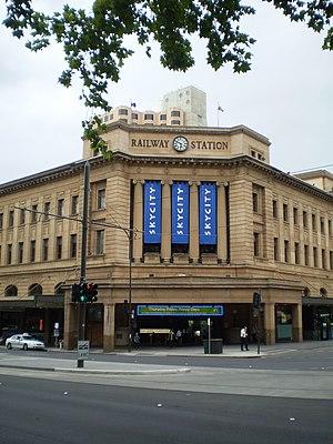 Adelaide railway station - Image: Adelaide Railway Station Adelaide
