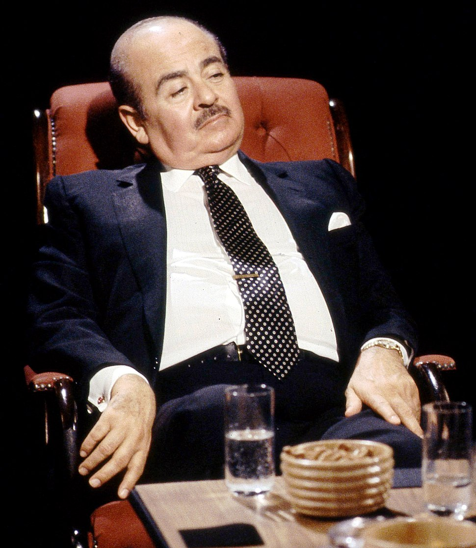 Adnan Khashoggi appearing on %27After Dark%27, 2 March 1991