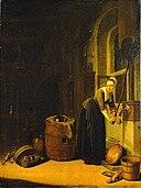 Adriaen van Gaesbeeck - Keukenscène - NM 633 - Nationalmuseum.jpg