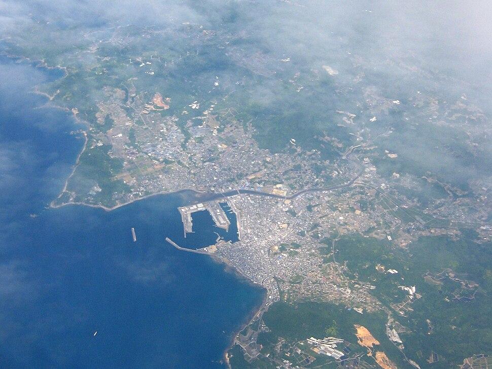 Aerial Makurazaki Kagoshima