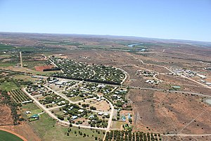 Orania, Northern Cape - Aerial view of the town of Orania