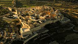 Aerial view Mdina, Malta.jpg