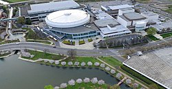 Aerial view of Von Braun Center.jpg