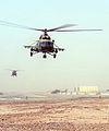 Afghan National Air Force Mi-17 Helicopter Over Camp Bastion MOD 45151876.jpg