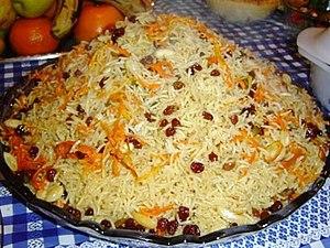 Afghan cuisine - Kabuli Palaw