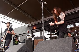 Against Me! performing at South by Southwest in 2014