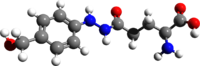 Agaritine 3d structure.png