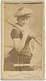 Agnes Miller, from the Actors and Actresses series (N45, Type 1) for Virginia Brights Cigarettes MET DP829887.jpg