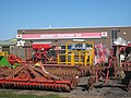 Agricultural equipment at Ancroft Tractors - geograph.org.uk - 1263012.jpg