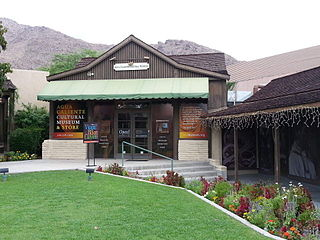 Anthropology museum in Palm Springs, California Caliente Cultural Caliente Cultural Museum)