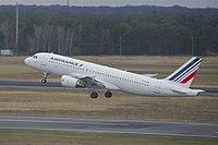 F-GKXU - A320 - Air France
