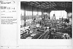 Airplanes - Manufacturing Plants - Aeroplane manufacture. Interior of Building showing progress in construction of Handley-Page machine. Standard Aircraft Corporation, Elizabeth, New Jersey - NARA - 17340115.jpg