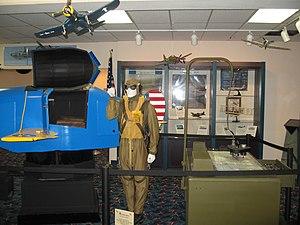 Airport Museum (Melbourne, Florida) - Image: Airport Museum (Melbourne, Florida) Inside 1