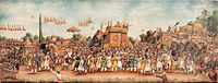 Akbar Shah II rides an elephant in a huge procession 1835 San Diego Museum of Art.jpg