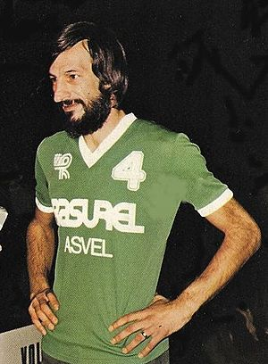 ASVEL Basket - Alain Gilles played 20 seasons for the club and coached the team for 8 seasons