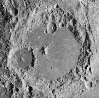 Albategnius (crater) - Lunar Orbiter 4 image