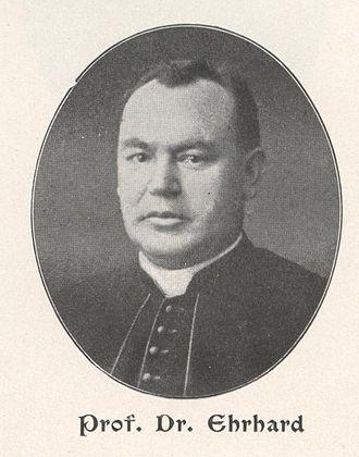 Albert Ehrhard - Albert Ehrhard (1905)
