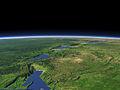 Albertine Rift, East African Rift (artificial rendering).jpg