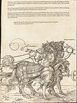 Albrecht Dürer - The Triumphal Chariot of Maximilian I (The Great Triumphal Car) (plate 7 of 8).jpg