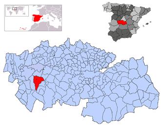 Alcaudete de la Jara - Image: Alcaudete de la Jara