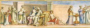 Le marriage chez les romains humain