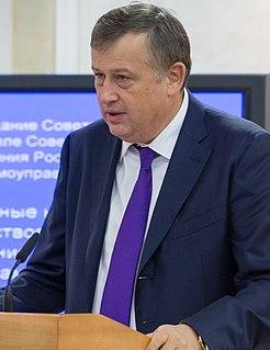 Aleksandr Drozdenko Governor of Leningrad Oblast