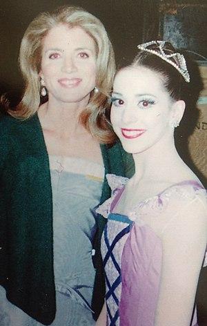 Alexandra Ansanelli - Image: Alexandra Ansanelli at Kennedy Center with Caroline Kennedy