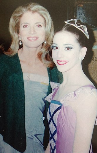 Alexandra Ansanelli - Image: Alexandra Ansanelli at Kennedy Center with Caroline Kennedy