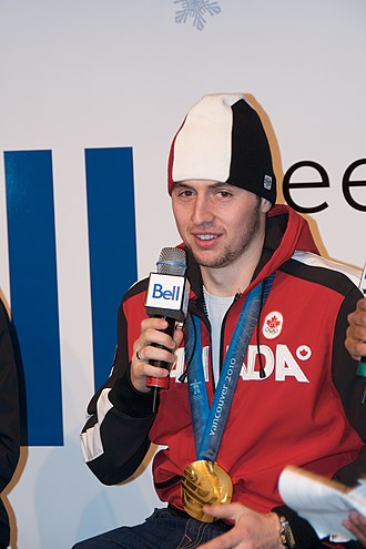 Alexandre Bilodeau - Alexandre Bilodeau with his 2010 Winter Olympics gold medal