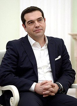 Tsipras in 2015