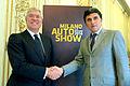 Alfredo Cazzola e Enrico Pazzali alla presentazione di Milano Auto Show.jpg