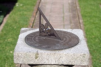 Alfriston Clergy House - Centenary sundial, Alfriston Clergy House 1896-1996