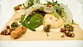 Alinea Short Rib, Guiness, peanut, fried broccoli (2771106469).jpg
