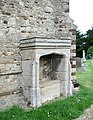 All Saints, Houghton Conquest, Beds - Recessed Tomb - geograph.org.uk - 330099.jpg