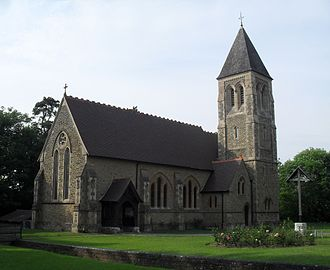 Horsham - All Saints' Church at Roffey