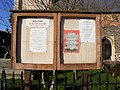 All Saints Church Notice Board - geograph.org.uk - 1597988.jpg