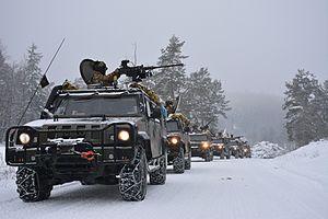 Iveco LMV - Italian Army Iveco LMV in 2016.