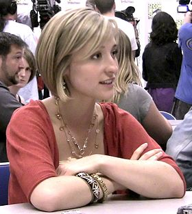 Allison Mack at San Diego Comic Con 2009