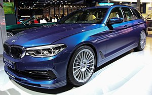 BMW 5 Series (G30) - Alpina B5 Bi-Turbo Touring at the IAA 2017.