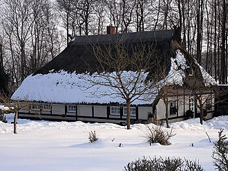 Alt Bukow - A thatched house in Alt Bukow