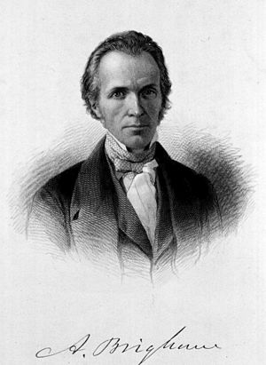 """Amariah Brigham - Amariah Brigham, M.D. (From """"Images from the History of Medicine,"""" National Library of Medicine."""