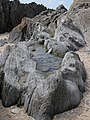 Amazing rock pool, Barricane Beach - geograph.org.uk - 1327506.jpg