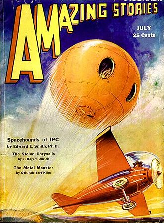 E. E. Smith - Spacehounds of IPC was also serialized in Amazing Stories.