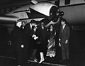 Ambassador to India John Kenneth Galbraith Greets First Lady Jacqueline Kennedy upon her Return from India.jpg