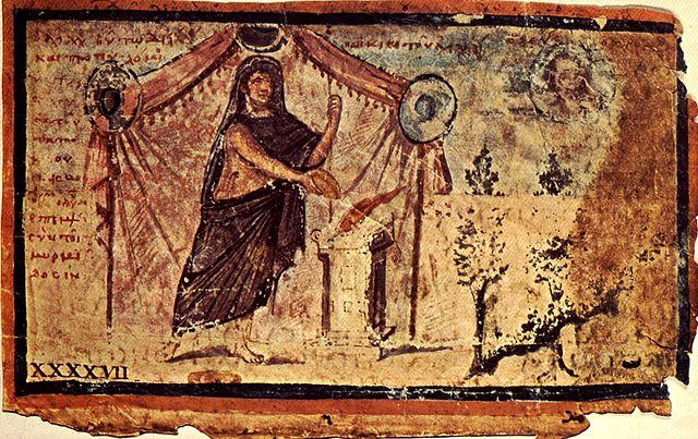 Средневековая иллюстрация к «Илиаде»