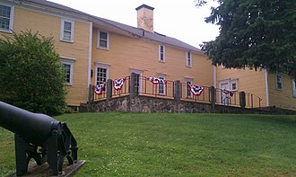 American Independence Museum - The Gilman-Ladd House, the main building of the American Independence Museum