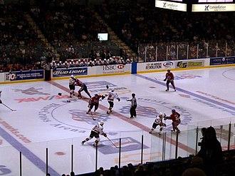 Blue Cross Arena - Amerks vs the Binghamton Senators in 2005