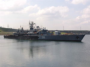 Admiral Petre Bărbuneanu-class corvette - Image: Amiral Petre Barbuneanu corvette
