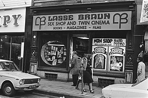 Lasse Braun - Lasse Braun Cinema in Amsterdam (1977)